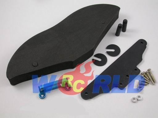 gpm large foam bumper alloy mount b tamiya tl01 tl 01 ebay. Black Bedroom Furniture Sets. Home Design Ideas